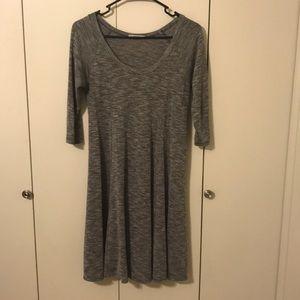 Gray Acemi midi dress.